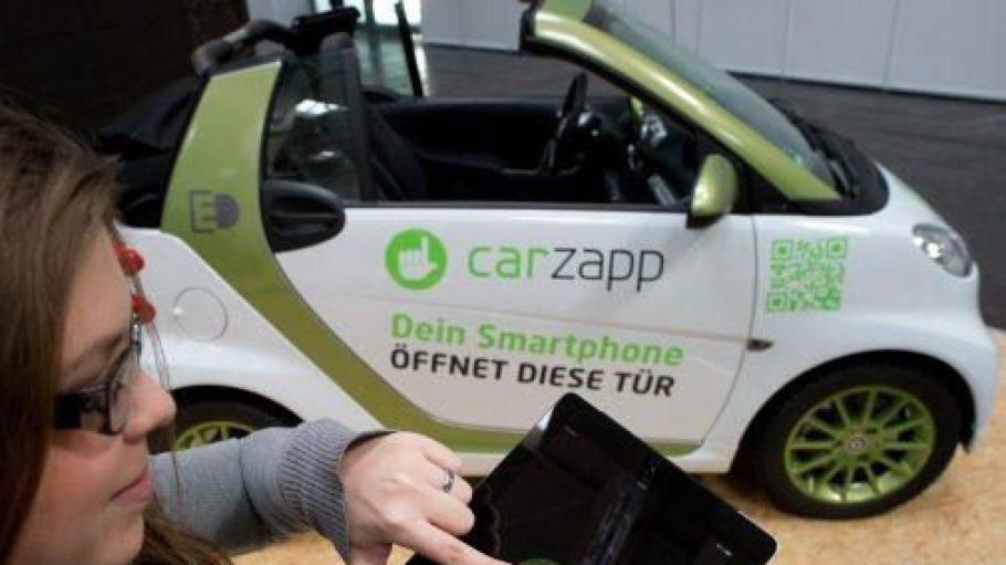 Autofahren ohne Schlüssel? Das fand die made-in.de-Jury preisverdächtig und zeichnete das start-up carzapp mit einem Award aus.