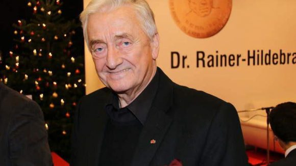 CDU-Politiker Klaus-Rüdiger Landowsky kam ebenfalls ins Mauermuseum am Checkpoint Charlie.