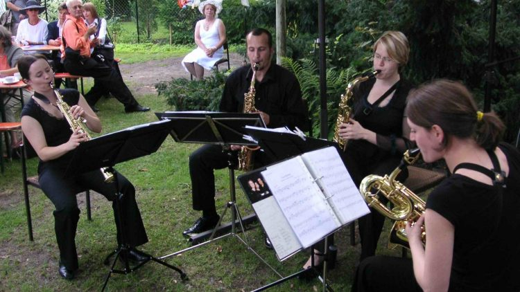 Im Kulturhaus wird häufig und gern musiziert.