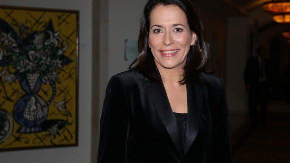 """ARD-Moderatorin Anne Will ist Botschafterin des Projekts """"Raum der Namen""""."""