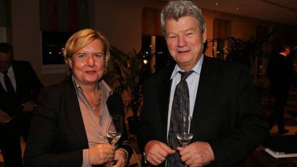 Berliner Politiker unter sich: Dr. Eva Högl (SPD), Bundestagsabgeordnete für Berlin-Mitte, und Wolfgang Wieland (Grüne), bis 2013 ebenfalls Mitglied des Bundestags.