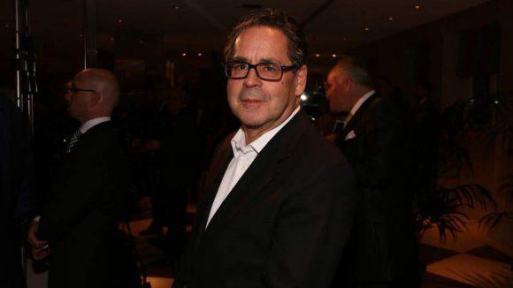 Ebenfalls im Adlon dabei war der Direktor der Nationalgalerie Udo Kittelmann.