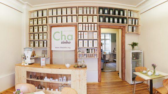 Die Teestube Chasinho in Neukölln.