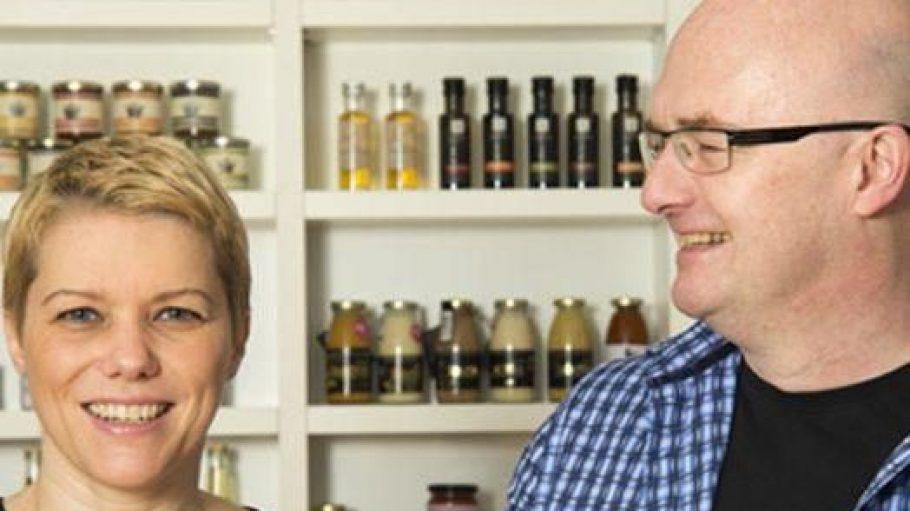 In ihrem Onlineshop feinjemacht verkaufen Christiane und Wolfgang de Filippo ausschließlich Produkte aus Berlin und Brandenburg.