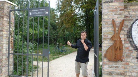 Einer von Bahrmanns Favoriten im Winskiez: der noch relativ neue Leise-Park.