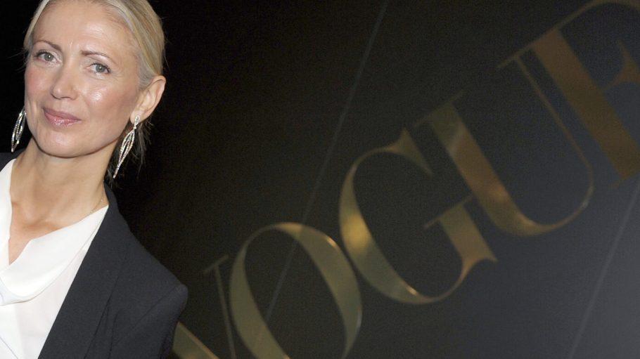 """Die Grande Dame der deutschen Modewelt: Vogue-Chefin Christiane Arp. Sie war Gastgeberin der Zeitmagazin x Vogue-Konferenz unter dem Motto """"Fashion loves Berlin""""."""
