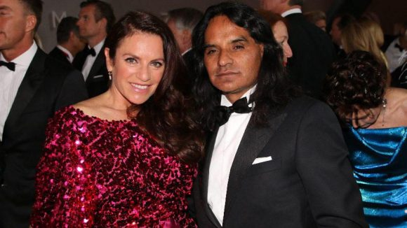 Schauspielerin Christine Neubauer und ihr Freund José Campos.