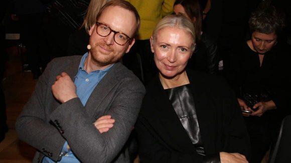 Quasi die Gastgeber: Christoph Amend (Chefredakteur, ZEITmagazin) und Vogue-Chefin Christiane Arp.