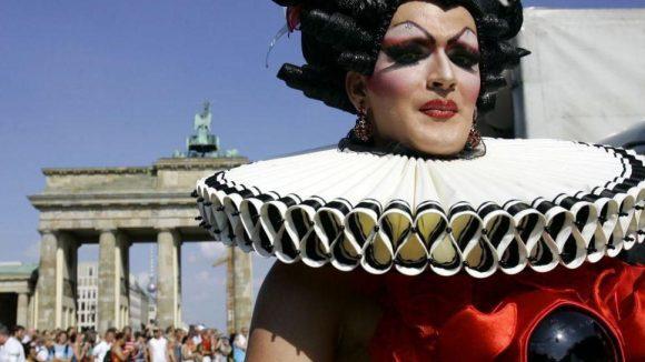 Äußerst beliebter Veranstaltungsort: die Gegend rund ums Brandenburger Tor