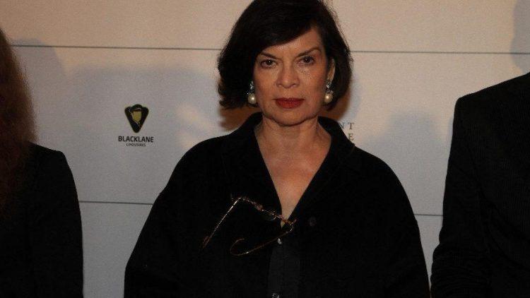 Amnesty International-Aktivistin Bianca Jagger war bei Cinema for Peace dabei, das in diesem Jahr wieder am Gendarmenmarkt stattfand.