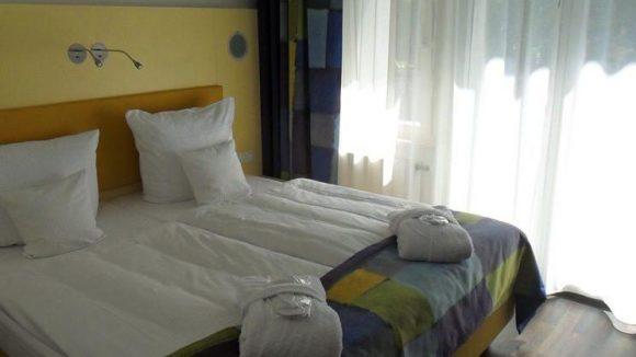 Alle Räume im HotelKlee sind hell und freundlich eingerichtet.