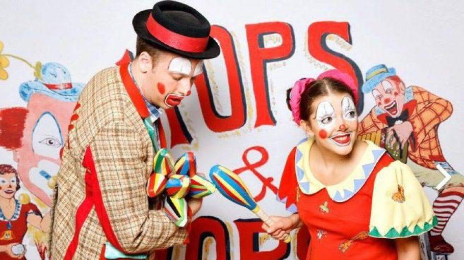 Mit Hops und Hopsi wird jede Kinderfete bunt und fröhlich.