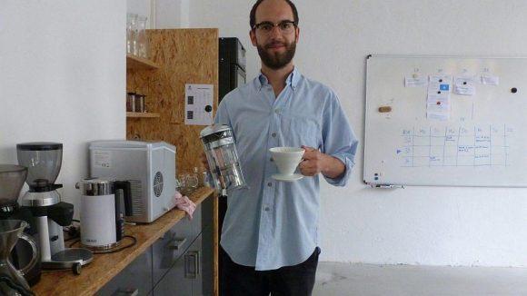 Fendrich ist bei Coffee Circle für die Kaffeeauswahl zuständig und betreut die belieferten Cafés.