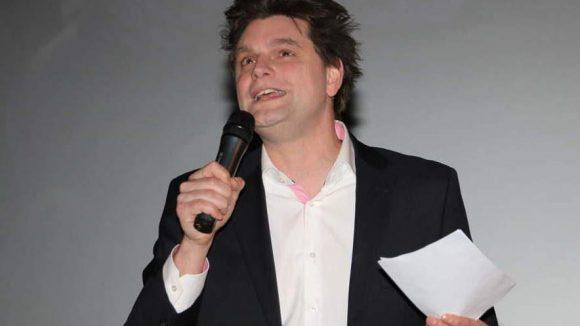 Comedian Lutz van der Horst moderierte.