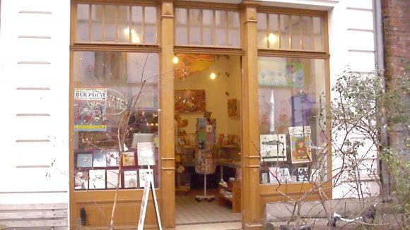 In der Tucholskystraße in Berlin-Mitte zu finden: Die Comic-Bibliothek Renate