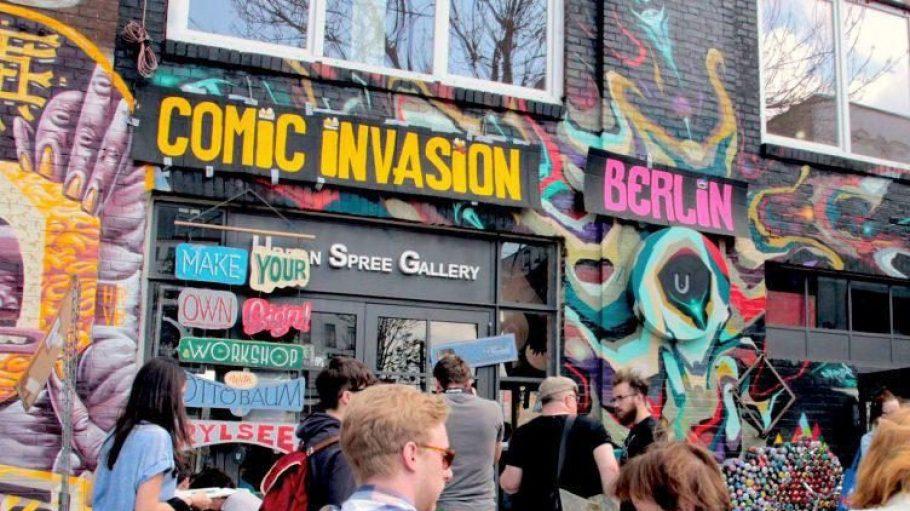 Wie schaut das Berlin von heute in 40 Jahren aus? Eine Frage, die die Künstler auf der Comic Invasion Berlin beschäftigt.