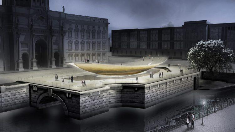 Computergrafik: So soll die geplante Einheitswippe aussehen
