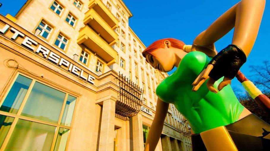 Die ganze Welt der Games im Computerspielemuseum. Auch Lara Croft war schon zu Gast.