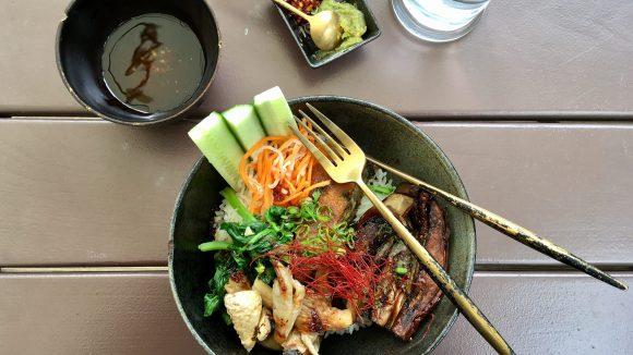 Vegan und vietnamesisch: Lunch im Con Tho.
