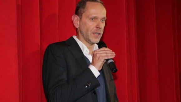 Gastgeber, weil Concorde Filmverleih-Chef: Markus Zimmer.