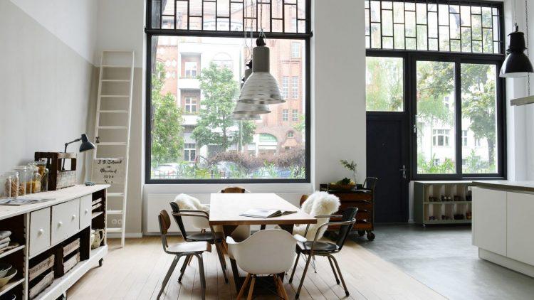 Trotz Erdgeschoss ist die Wohnung schön hell.