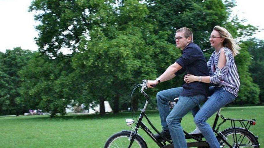 Zugegeben: Im Sommer macht Cuddlebike fahren sicher noch etwas mehr Spaß.