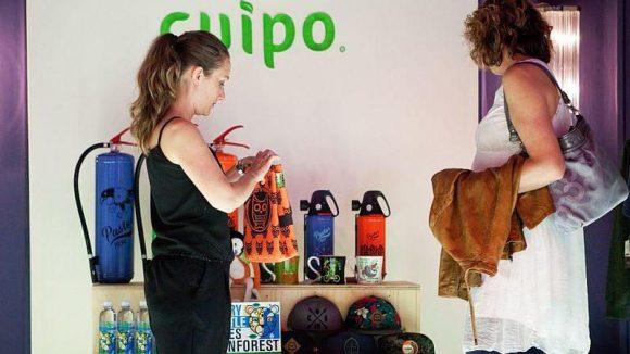 """Im Fahrwasser der Fashion Week präsentierte """"Cuipo"""" sich und sein Konzept."""