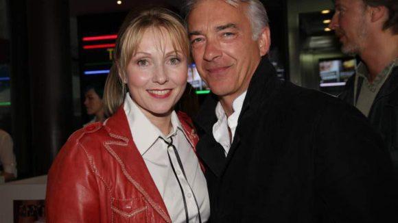"""Christoph M. Orth, den viele vor allem aus """"Edel & Starck"""" kennen, spielt auch mit. Er kam mit seiner Freundin, der Schauspielerin Dana Golombek."""