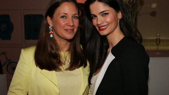 Schön: Dana Schweiger (links) und Model Shermine Shahrivar.