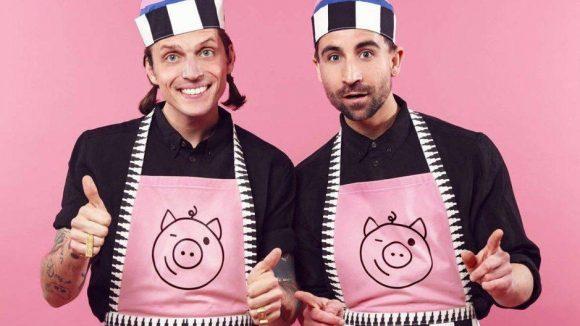 Jakob Haupt (links) und David Roth haben neben der Mode ein neues Betätigungsfeld. Sie versorgen uns fortan mit gesundem Essen.