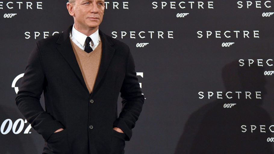 Hach, immer so schön lässig: Daniel Craig alias James Bond bringt heute eine große Portion Charme an den Potsdamer Platz.