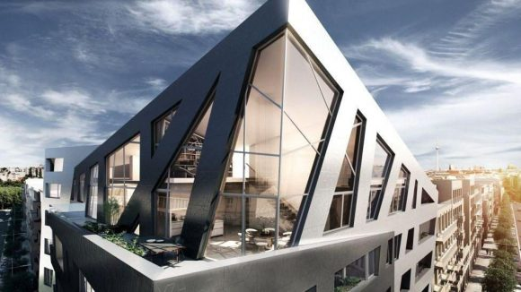 Darf's vielleicht das Penthouse auf dem Dach sein?
