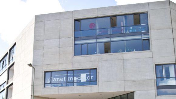 Das Aufbau-Haus ist das Kreativzentrum am Moritzplatz in Kreuzberg