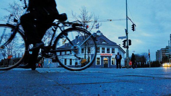 Das ehemalige Hertha-Vereinsheim beim Gesundbrunnen ist jetzt ein Hostel.