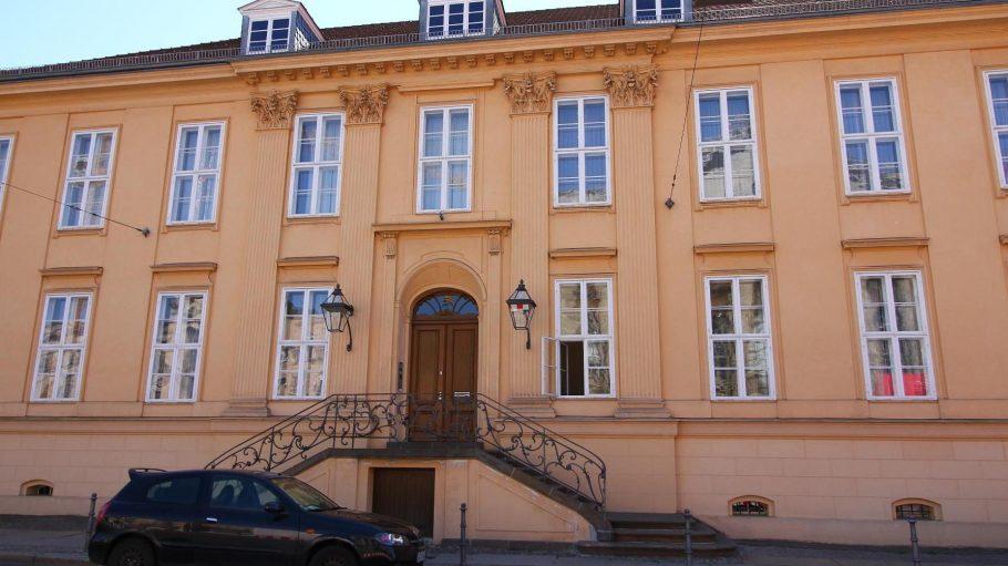 Das Magnus-Haus am Kupfergraben in Berlin-Mitte.