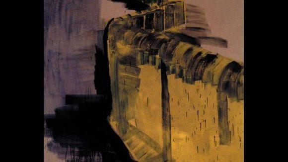 Rainer Fetting: Mauerstück, 1989. Öl auf Leinwand.