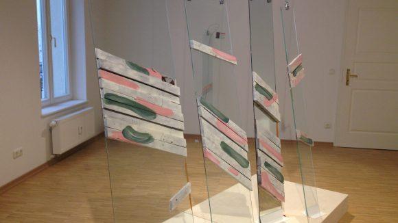 Auf den ersten Blick gar nicht als Süßspeise zu erkennen. Den Preis für ihre Installation schätzt Kristiane Kegelmann auf mehrere Tausend Euro.