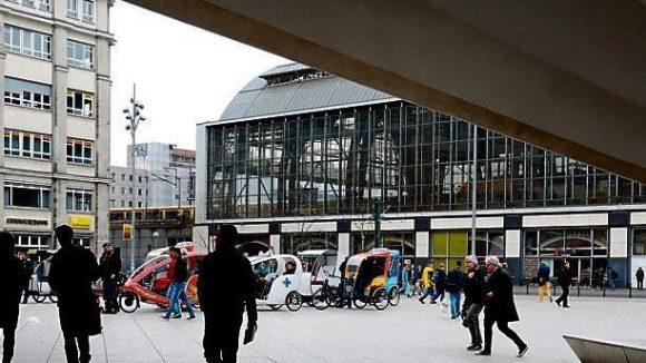 Der Alexanderplatz in Berlin-Mitte