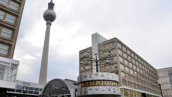 Der Alexanderplatz ist einer der wärmsten Orte in Berlin.