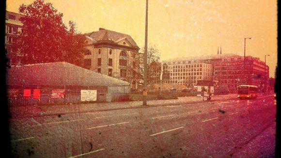 Das ehemalige Zentrum der Stadt, der Petriplatz, hat derzeit nur begrenzten Charme.