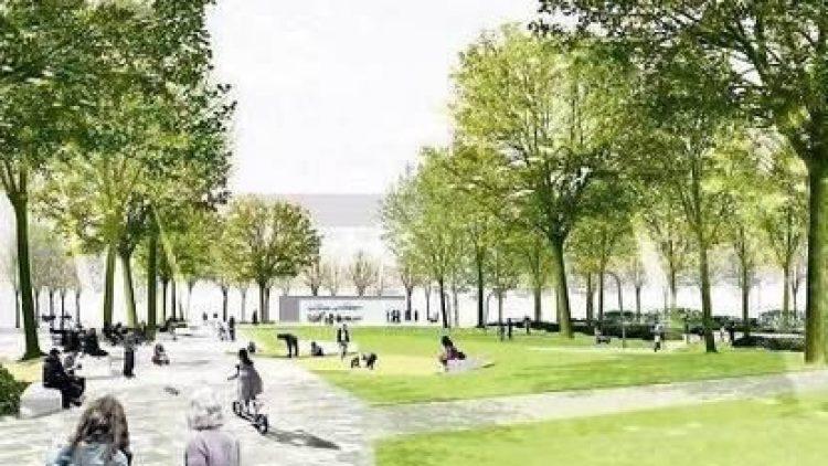 Der Siegerentwurf für die Gestaltung des Olivaer Platzes (Rehwaldt-Landschaftsarchitekten)