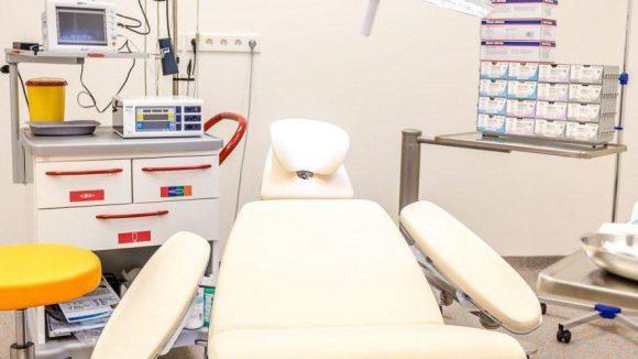 In diesem OP-Raum werden mittels Elekto-Chemotherapie Tumore bekämpft.