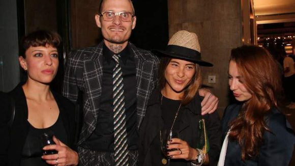 Die Berliner Modeszene feierte mit: Designer Patrick Mohr war da ...