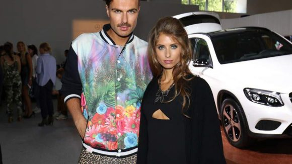 ... sowie Modedesigner André Borchers und Cathy Hummels, geb. Fischer.