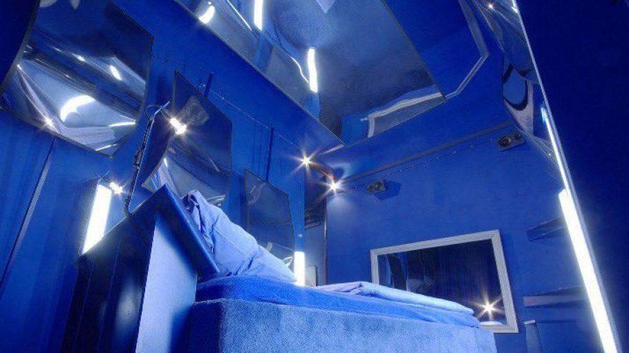 Ausgefallen: Ein Zimmer im Propeller Island.