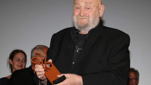 Rolf Hoppe, dessen Karriere in der DDR begann, wurde für sein Lebenswerk geehrt.
