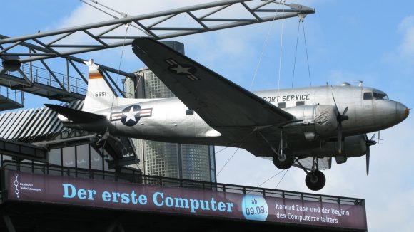 Der Traum vom Fliegen im Deutschen Technikmuseum
