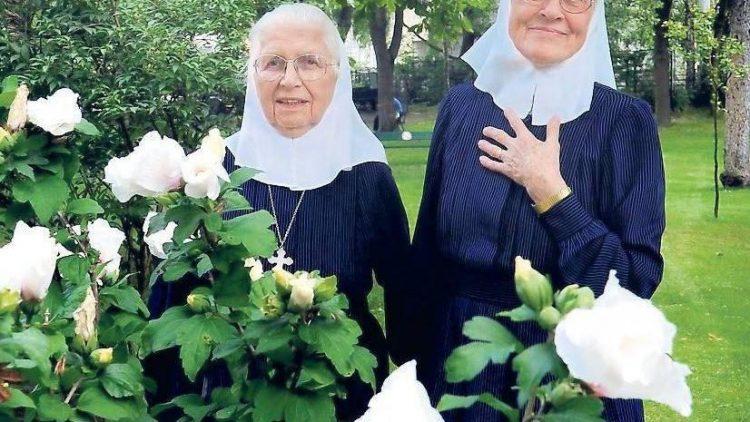Die Schwestern Magdalene und Brigitte haben jahrezehntelang im Elisabeth Klinikum gewirkt.