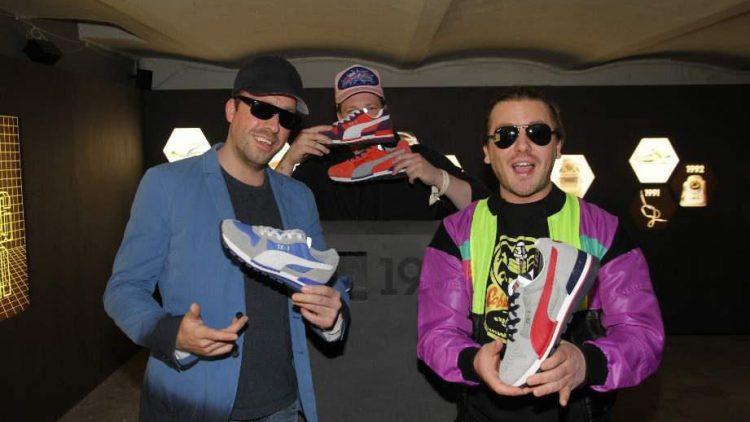 Sneaker Freaks: Die beiden Berliner Rapper und Produzenten Frauenarzt und Manny Marc, kurz die Atzen.