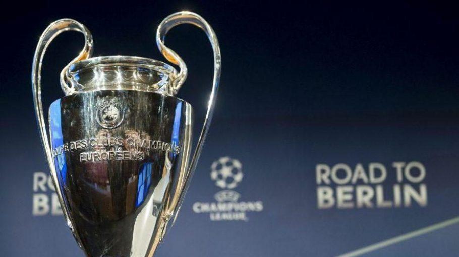 Bald in den Händen einer deutschen Mannschaft? Der Champions-League-Pokal der Herren, um den am 6. Juni im Berliner Olympiastadion gespielt wird.
